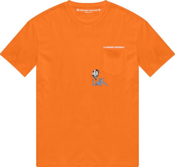 Chrome Hearts X Matty Boy Orange White Link Build T Shirt