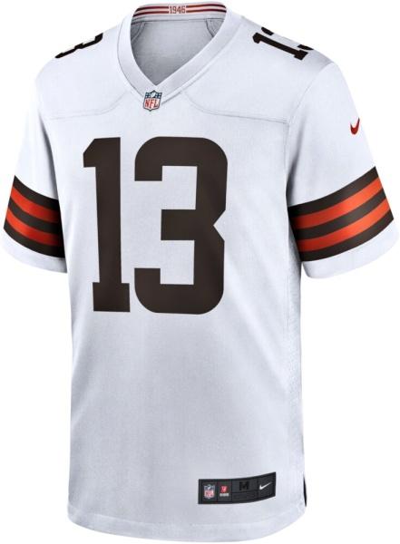 Cleveland Browns Obj White Jersey