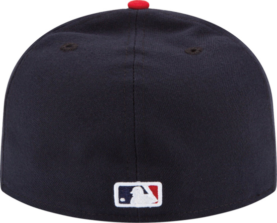 Cleveland Indians Red And Navy Fitted New Era Hat
