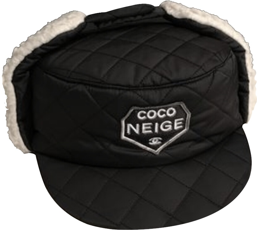 Coco Neige Patch Quilted Hat