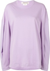 Comme Des Garcons Oversized Purple T Shirt