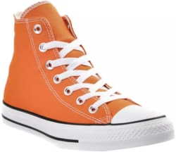 Converse Orange High Top Sneakers