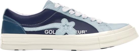 Converse X Golf Le Fleur Two Tone Blue Low Sneakers