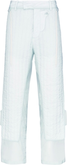 Craig Green Light Blue Quilted Pants