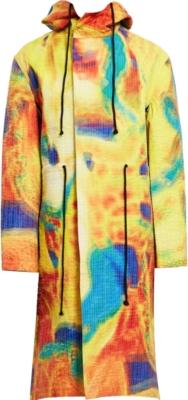 Craig Greene Yellow Multicolor Parka