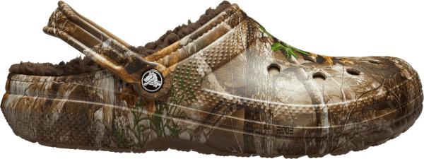 Crocs Realtree Camo Lined Clogs