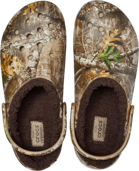 Crocs X Realtree Edge Camo Lined Clogs