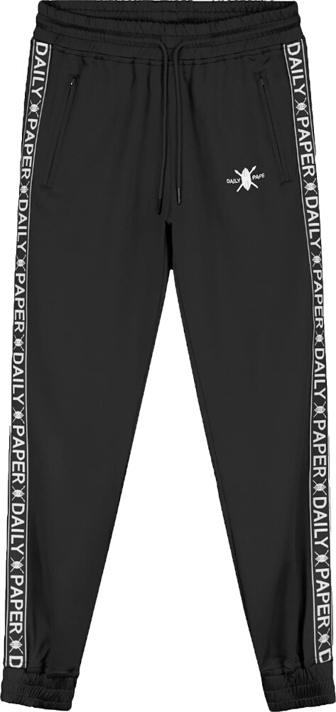 Daily Paper Logo Tape Black Trackpants