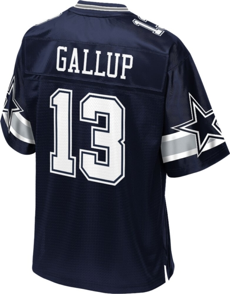 Dallas Cowboys Michael Gallup #13 Blue Jersey