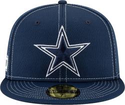 Dallas Cowboys New Era Blue Mesh Sideline Hat