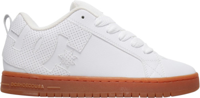Dc Shoes White Gum Skate Sneakers