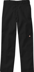 Dickies Black Double Knee Pants