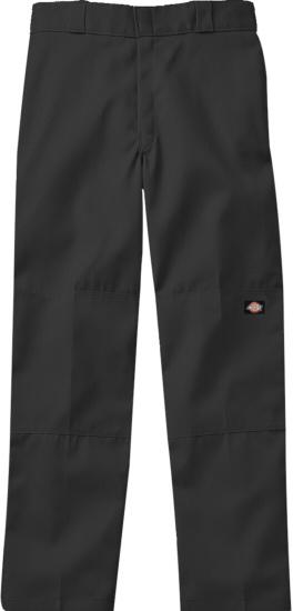 Dickies Dark Grey Double Knee Pants