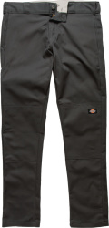 Charcoal Grey Double-Knee Pants