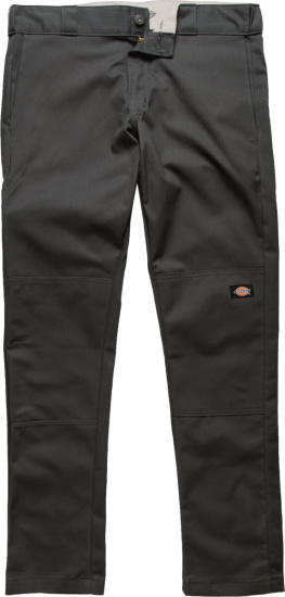 Dickies Double Knee Charcoal Work Pants