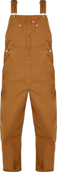 Dickies Duck Brown Classic Bib Overalls