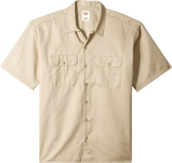 Dickies Khaki Work Shirt