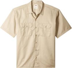 Dickies Khaki Work Shirt