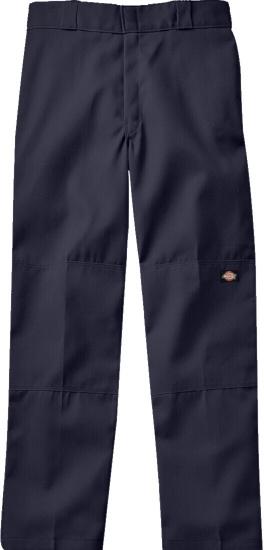 Dickies Navy Double Knee Pants