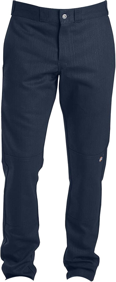 Dickies Navy Double Knee Slim Fit Pants