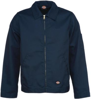 Dickies Navy Eisenhower Jacket Worn By Kanye West At The Met Gala