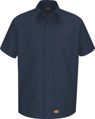 Dickies Navy Industrial Work Shirt