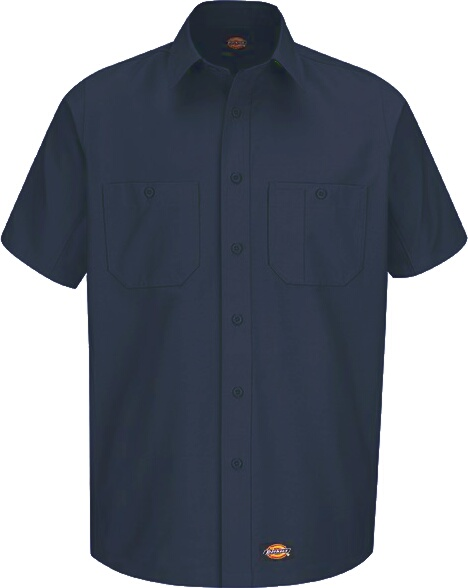 Dickies Navy Industrial Work Shirt