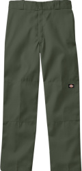 Dickies Olive Green Double Knee Pants