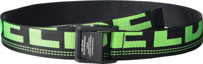 Diesel Black And Neon Green Industrail Belt