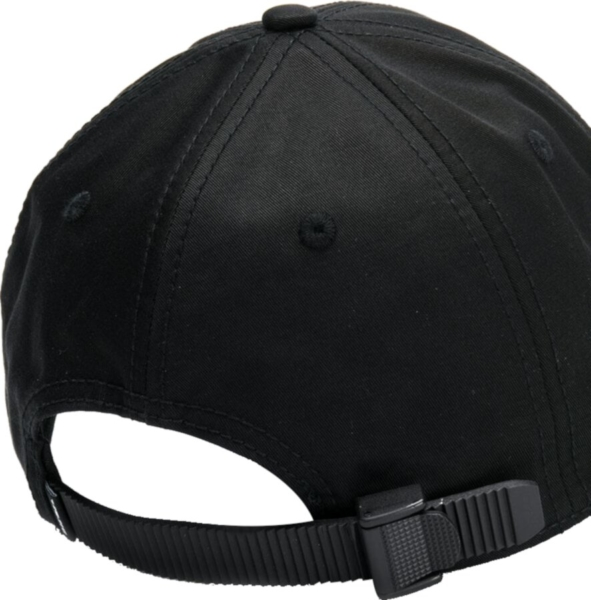Diesel Black Hat With Adjustable Back Fastening