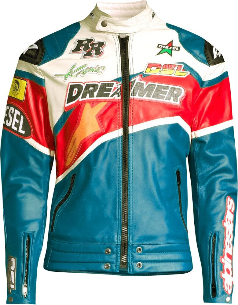 Diesel X Alpinestars Dreamer Leather Jacket