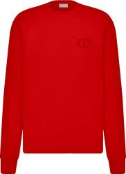 Red 'CD Icon' Sweatshirt
