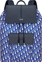 Blue Pixel Oblique 'Motion' Backpack