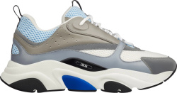 Light Blue & Grey 'B22' Sneakers