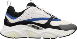 White, Blue, & Black 'B22' Sneakers