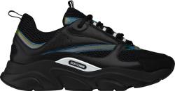Black Reflective 'B22' Sneakers
