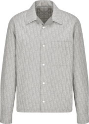 Dior Grey Oblique Overshirt