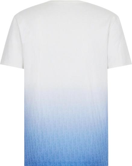 Dior T Shirt With Dior Oblique Motif