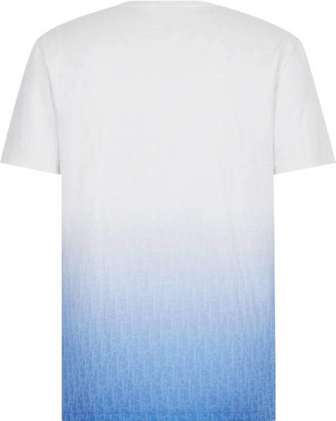 Dior T Shirt With Dior Oblique Motif