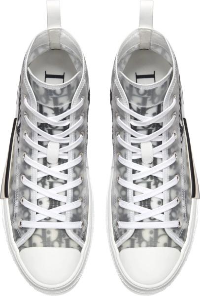 Dior White And Black Dior Oblique Canvas