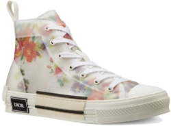 Dior B23 Floral High Top Sneakers