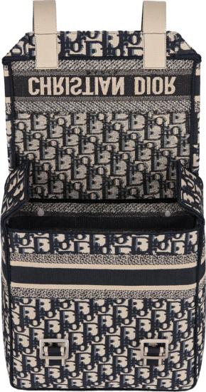 Dior Beige Oblique Mini Backpack