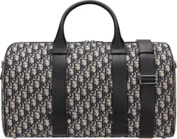 Dior Beige Obliuqe Duffle Bag