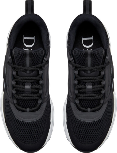 Dior Black And White B22 Sneakers