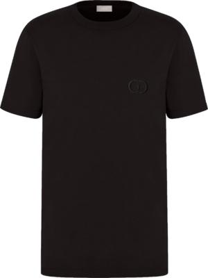Dior Black Cd Icon T Shirt