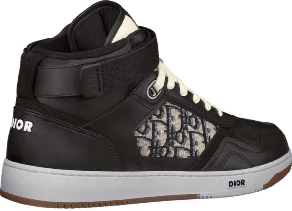 Dior Black High Top B27 Sneakers