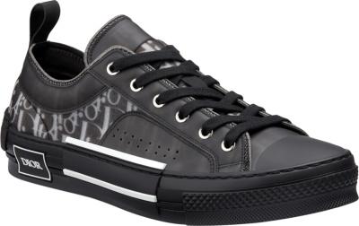 Dior Black Oblique B23 Sneakers
