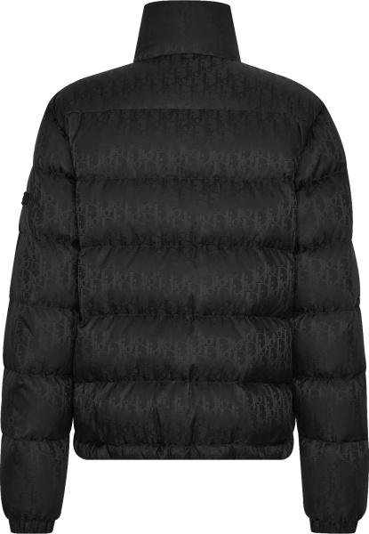 Dior Black Oblique Puffer Jacket