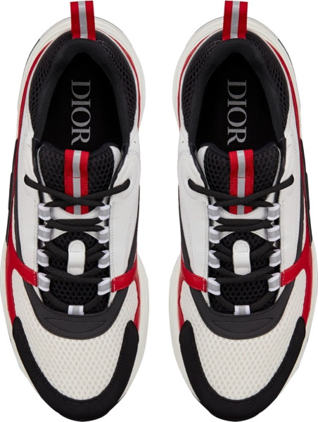 Dior Black Red White B22 Sneakers