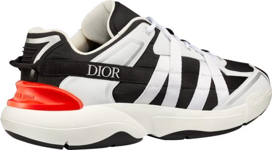 Dior Black Runtek Sneakers